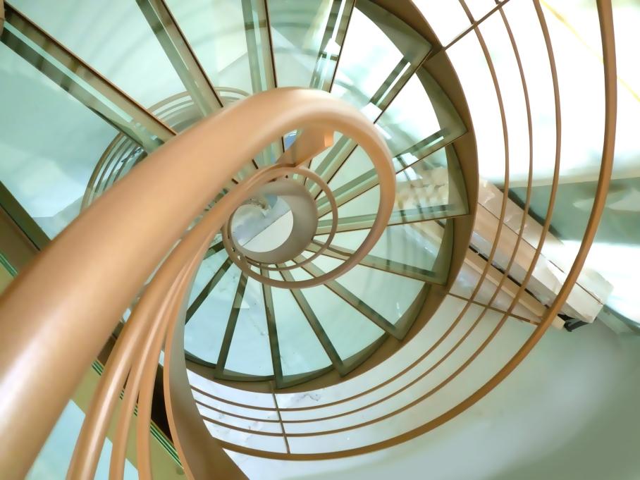 Escalier Design Hélicoïdal